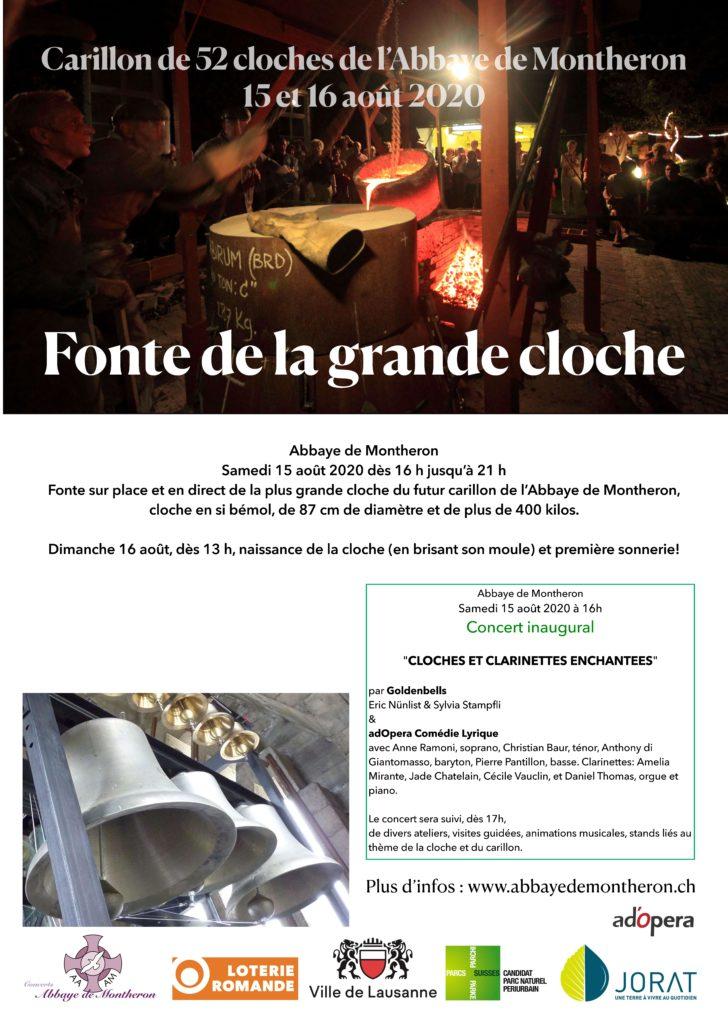 Carillons et clarinettes enchantées @ Abbaye de Montheron